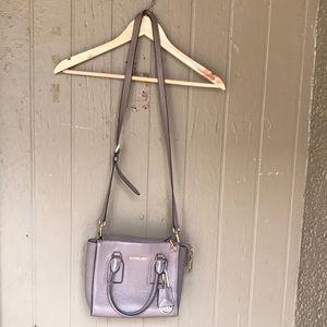 Michael Kors leather mini tote crossbody bag